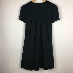 Talula Dresses - Talula Aritzia Black Cotton Short Sleeve Dress